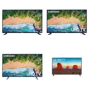 5 Pcs – LED/LCD TVs (46″ – 55″) – Refurbished (GRADE A, GRADE B) – Samsung, LG