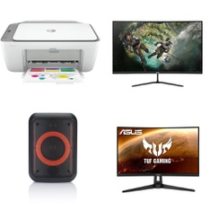Pallet - 34 Pcs - Portable Speakers, All-In-One, Monitors - Customer Returns - HP, Onn, ACER, Asus