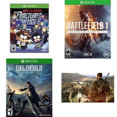 53 Pcs - Microsoft Video Games - New, Used, Like New - South Park: The Fractured but Whole - (XB1), 91502, 37121, Outlast Trinity (Xbox One)