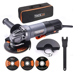 Pallet - 86 Pcs - TACKLIFE P3AG115 Powerful 11 Amp Grinder Tool With Safe Paddle Switch - Brand New - Retail Ready