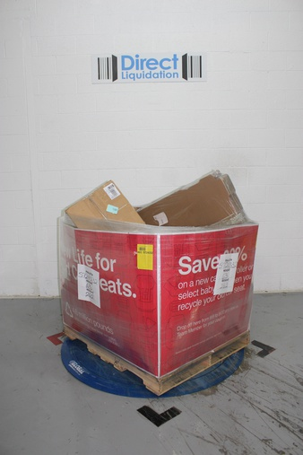 Pallet – 120 Pcs – Kitchen & Dining, T-Shirts, Polos, Sweaters, Disposable Tableware – Untested Customer Returns – Tree-Free Greetings, Cybrtrayd, 3dRose, Pizza Royale