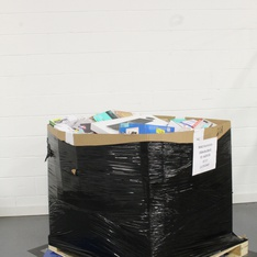 Pallet - 325 Pcs - Ink, Toner, Accessories & Supplies, Other, Keyboards & Mice, Computer Software - Customer Returns - HP, Brother, Logitech, Tzumi