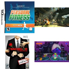 50 Pcs – Nintendo Video Games – Used, New, Open Box Like New, Like New – NDS00183, The Bachelor: The Videogame – Nintendo Wii, Generator Rex: Agent of Providence (Wii), Moshi Monsters: Katsuma Unleashed