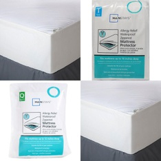 3 Pallets - 142 Pcs - Covers, Mattress Pads & Toppers, Comforters & Duvets, Bedding Sets - Customer Returns - Mainstay's, Aller-Ease, Shark, AllerEase