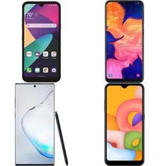 CLEARANCE! 7 Pcs – Cellular Phones – Refurbished (GRADE A, GRADE B – Not Activated) – Samsung, LG