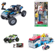 3 Pallets - 174 Pcs - Vehicles, Trains & RC, Action Figures, Not Powered - Customer Returns - New Bright, Adventure Force, Paw Patrol, American Plastic Toys