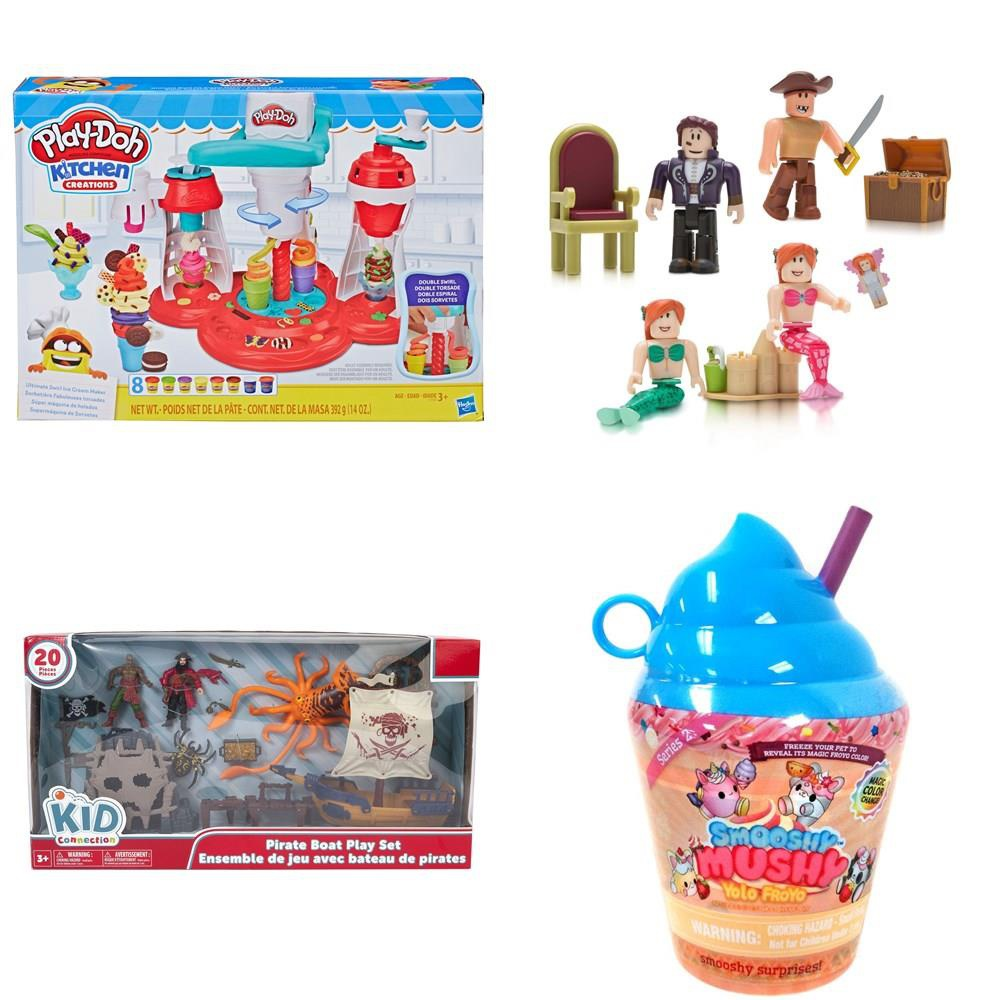Roblox Celebrity Club Boates Products In 2019 Boating Pallet 127 Pcs Action Figures Not Powered Boardgames Puzzles Building Blocks Dolls Customer Returns Play Doh Kid Connection Roblox Pj Masks