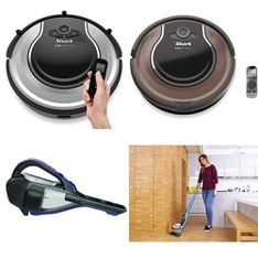 45 Pcs - Vacuums - Open Box Like New, New Damaged Box, Like New, Used, New - Retail Ready - BLACK & DECKER, Bissell, Shark, Hoover