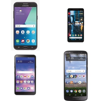 CLEARANCE! 66 Pcs – Cellular Phones – Refurbished (GRADE A, GRADE B, GRADE C – Not Activated) – LG, Samsung, Motorola, Google Chromecast