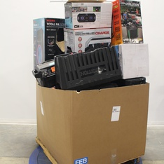 Pallet – 28 Pcs – Portable Speakers – Tested NOT WORKING – Ion, Monster, JBL, Altec Lansing