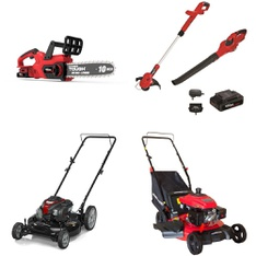 Pallet - 13 Pcs - Mowers, Trimmers & Edgers - Customer Returns - Hyper Tough