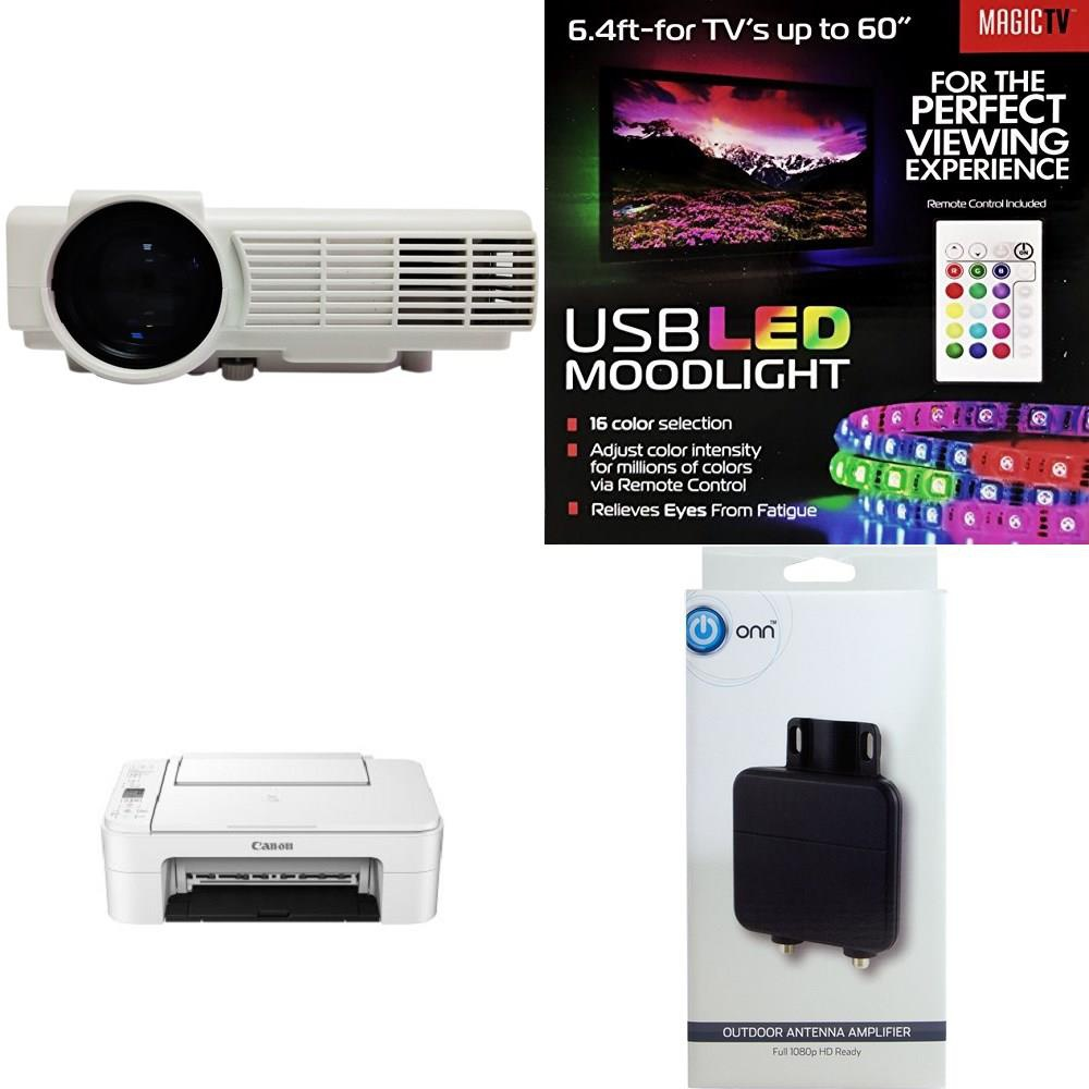 CLEARANCE! 1041 Pcs - Ink, Toner, Accessories & Supplies, Accessories,  Projector, All-In-One - Customer Returns - Canon, HP, RCA, Onn