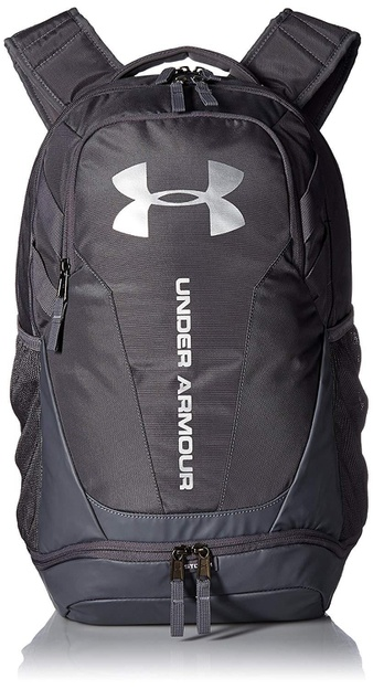 10 Pcs – Under Armour 1294720-040 3.0 Backpack – Graphite/Silver – New – Retail Ready