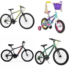 Pallet – 8 Pcs – Cycling & Bicycles – Customer Returns – Movelo, Hyper Bicycles, Little Miss Matched