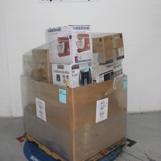Pallet - 21 Pcs - Deep Fryers, Microwaves - Customer Returns - Farberware, Hamilton Beach, Instant Pot