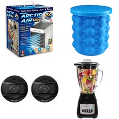 Half Truckload - 12 Pallets - 922 Pcs - Kitchen & Dining, Speakers, Food Processors, Blenders, Mixers & Ice Cream Makers, Boardgames, Puzzles & Building Blocks - Customer Returns - Pioneer, As Seen On TV, Bestway, Oster