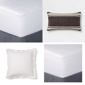 21 Pcs Pillows Covers Mattress Toppers New Retail Ready Room Essentials Fieldcrest Threshold Project 62