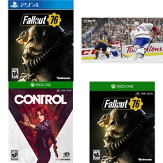 66 Pcs – Video Games – New, Like New, Open Box Like New – Bethesda Softworks, 505 Games, Electronic Arts