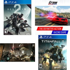 25 Pcs – Sony Video Games – New, Like New, Used – Destiny 2 Standard Edition (PS4), Deus Ex: Mankind Divided (PS4), Tom Clancys Ghost Recon Wildlands, The Elder Scrolls Online: Morrowind (PS4)