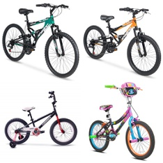 Pallet – 8 Pcs – Cycling & Bicycles – Customer Returns – Movelo, Hyper Bicycles, COEWSKE, Little Miss Matched