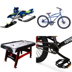 Pallet – 11 Pcs – Cycling & Bicycles, Camping & Hiking – Customer Returns – Fast Track, Ozark Trail, Hyper, Hyper Bicycles