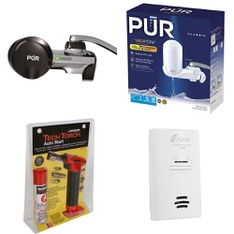 Pallet - 216 Pcs - Tools - Hardware, Kitchen & Dining, Smoke Alarms & CO Detectors - Customer Returns - Brinks, Kaz, Kidde, PUR