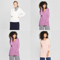 150 Pcs - T-Shirts, Polos, Sweaters & Cardigans - New - Retail Ready - A New Day, Universal Thread
