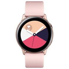 34 Pcs – Samsung SM-R500NZDAXAR Galaxy Watch Active (40mm) Bluetooth Rose Gold – Refurbished (GRADE A – No Power Adapter)