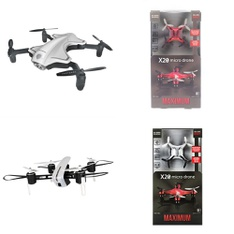 Pallet – 152 Pcs – Drones & Quadcopters – Customer Returns – Protocol, Maximum, SkyRover, WEW