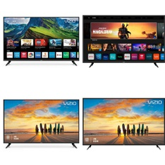 60 Pcs – LED/LCD TVs – Refurbished (GRADE A, GRADE B) – VIZIO