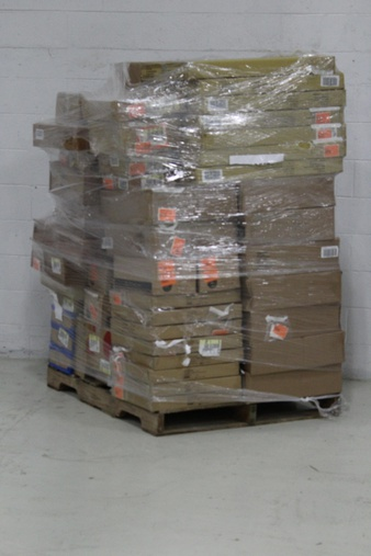 Truckload – 26 Pallets – 25201 Pcs – Backpacks, Bags, Wallets & Accessories, T-Shirts, Polos, Sweaters & Cardigans, Shirts & Blouses, Underwear, Intimates, Sleepwear & Socks – Brand New – Retail Ready – A New Day, Cat & Jack, Universal Thread, Mossimo Supply Co.