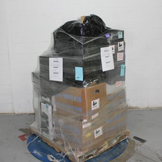 6 Pallets – 2622 Pcs – In Ear Headphones, Over Ear Headphones, Boombox, Receivers, CD Players, Turntables – Customer Returns – Blackweb, Onn, Apple, Monster