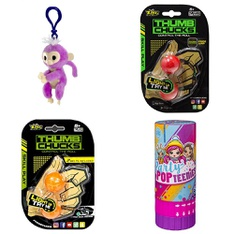 Pallet - 593 Pcs - Not Powered, Dolls, Backpacks, Bags, Wallets & Accessories, Action Figures - Customer Returns - Zing, Fingerlings, Party Popteenies, Tri Star