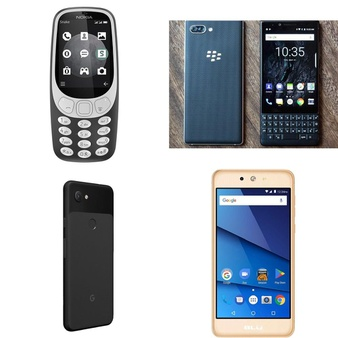 15 Pcs – Unlocked Cellular Phones – Refurbished (GRADE A) – Nokia, Motorola, BLU, BLACKBERRY