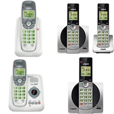 Pallet - 414 Pcs - Cordless / Corded Phones - Customer Returns - VTECH