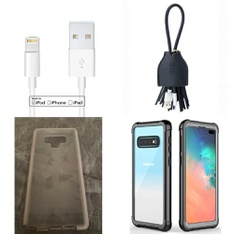 85 Pcs - Cellular Phones Accessories - Used, Like New, Open Box Like New - Mundaze, Motile, Tech21, ByCallMax