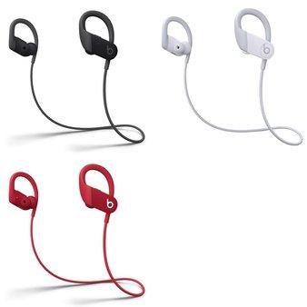 60 Pcs – PowerBeats High Performance Headphones (Tested NOT WORKING) – Models: MWNV2LL/A, MWNX2LL/A, MWNW2LL/A