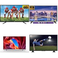 50 Pcs – LED/LCD TVs – Refurbished (GRADE A, GRADE B) – RCA, JVC, PROSCAN
