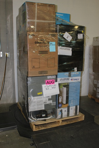 Truckload – 26 Pallets – 253 Pcs – Bar Refrigerators & Water Coolers – Customer Returns – HISENSE, Primo, Galanz