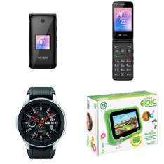 CLEARANCE! 113 Pcs - Other, Prepaid, Samsung Gear, LG - Tested NOT WORKING - ALCATEL, Samsung, RCA, ZTE