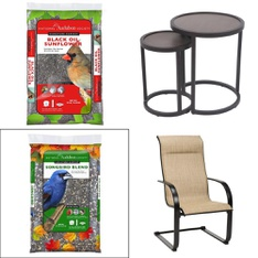 Truckload - 26 Pallets - 209 Pcs - Patio, Pet Toys & Pet Supplies, Dining Room & Kitchen, Automotive Accessories - Customer Returns - National Audubon Society, Allen & Roth, Garden Treasures, Style Selections
