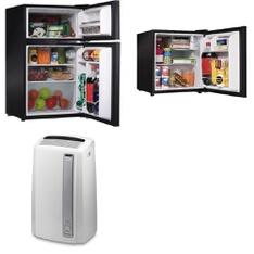 Pallet - 8 Pcs - Bar Refrigerators & Water Coolers, Air Conditioners - Customer Returns - Galanz