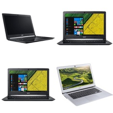 9 Pcs – Laptops – Refurbished (GRADE A, GRADE B) – ACER