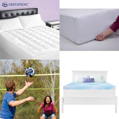 Pallet - 33 Pcs - Covers, Mattress Pads & Toppers, Outdoor Sports, Hand Tools - Customer Returns - Mainstays, Mainstay's, Beautyrest, SPRINGS GLOBAL