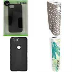 250 Pcs - Cellular Phones Accessories - New - PopSockets, MyCharge, Belkin, Speck