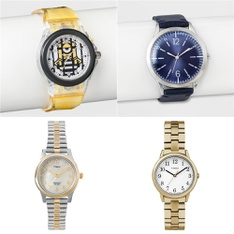 45 Pcs - Watches - New, Like New, Open Box Like New, Used, New Damaged Box - Retail Ready - Timex, A New Day, Armitron, Despicable Me