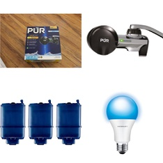 3 Pallets - 814 Pcs - Hardware, Kitchen & Dining, Kitchen & Bath Fixtures - Customer Returns - Kaz, PUR, Kidde, Merkury Innovations