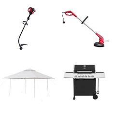 3 Pallets - 33 Pcs - Trimmers & Edgers, Grills & Outdoor Cooking, Camping & Hiking - Customer Returns - Hyper Tough, Expert Grill, Ozark, Bissell