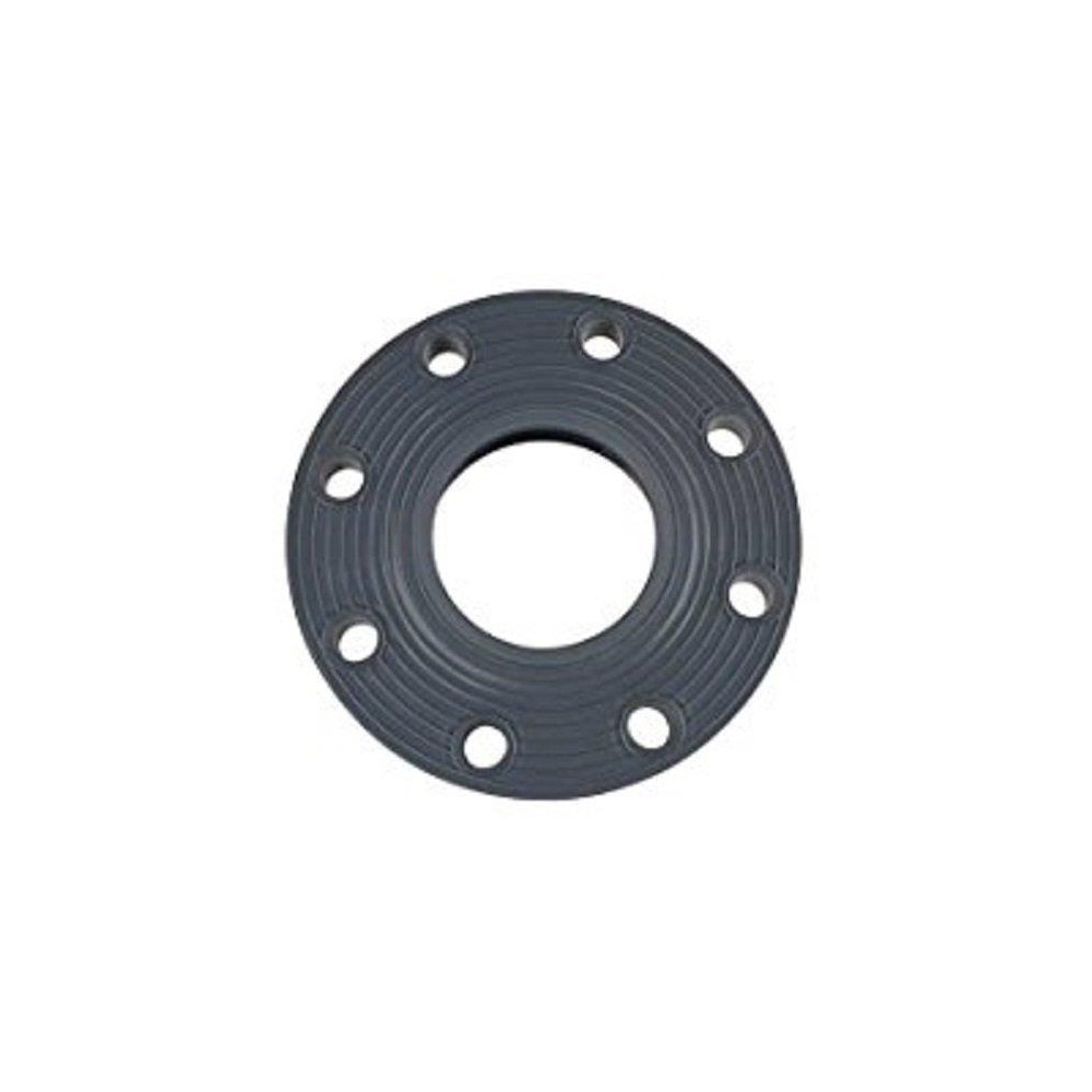 """GF Piping Systems 851-040 PVC Pipe Fitting Flange Schedule 80 4/"""" Slip Gray"""