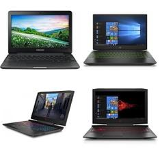 69 Pcs – Laptop Computers – Refurbished (GRADE A, GRADE B, GRADE C – No Power Adapter) – Samsung, HP, DELL, ACER